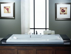Jacuzzi� 7263-959 Nova 6 Soaking Bath 6'- White