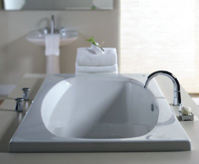 Jacuzzi� 9180-959 Amiga� Soaking Bath 6'- White