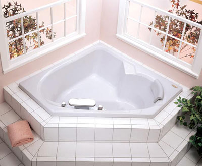 Jacuzzi� 9191-959 Tara Soaking Bath 5'- White