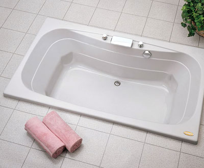 Jacuzzi� C100-959 Signa� 6 Soaking Bath 6'- White