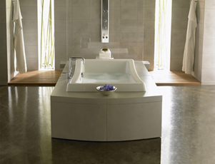Jacuzzi� ED75-959 Allusion 7242 Whirlpool Bath 6' - White
