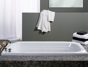 Jacuzzi� F948-959 Luxura� 5.5 Soaking Bath 5.5'- White
