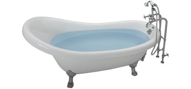 Jacuzzi� ERS6032BUXXXXW Era Slipper Freestanding Soaking Bathtub with Universal Drain - White