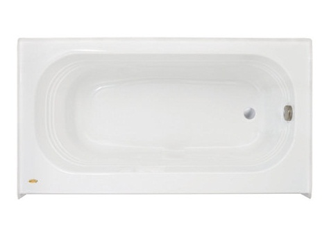 Jacuzzi� LXS6030BLXXXXW Luxura� Three Wall Alcove Soaking Bathtub - White