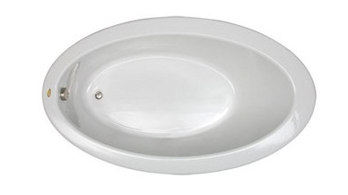 Jacuzzi� RIV6638BUXXXXW Riva� Drop In Soaking Bathtub - White