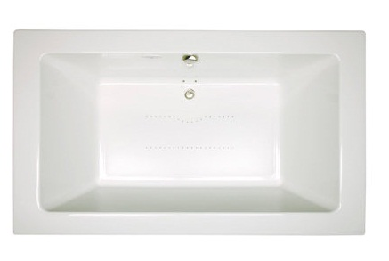 Jacuzzi� SIA7242ACR4CXW Sia� Drop In Luxury Pure Air� Bathtub - White