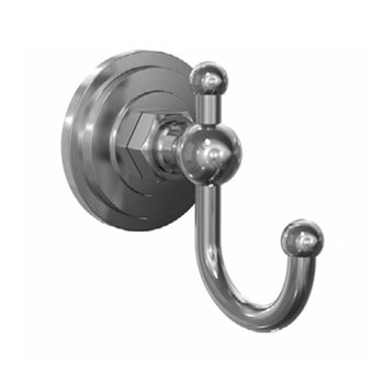 Jado 045/010/144 Savina Robe Hook - Brushed Nickel (Pictured in Chrome)