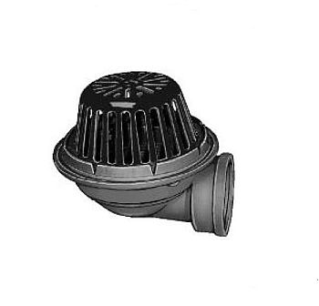 Jay R Smith 1320 Y03 3 Quot Roof Drain With Low Profile Dome