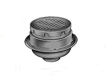 Jay r smith 2330 y04 p050 4 medium duty floor drain with 12 jay r smith 2330 y04 p050 4 tyukafo