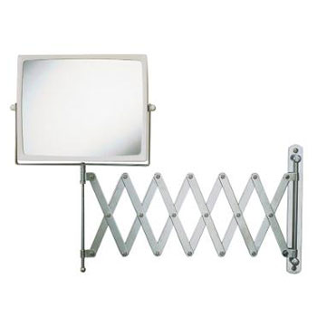 Jerdon J2020C 4X Wall Mounted Mirror - Chrome