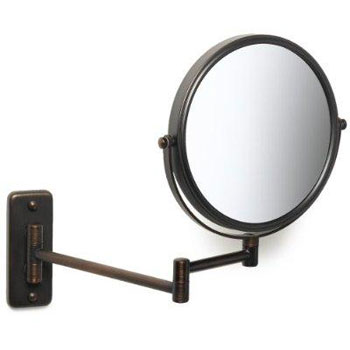 Jerdon JP7506BZ Wall Mount Mirror - Bronze