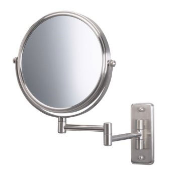 Jerdon JP7506N Wall Mount Mirror - Nickel