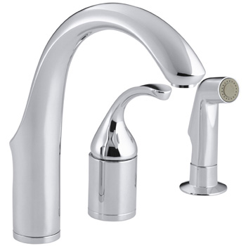 Kohler K-10441-CP Forte Entertainment Remote Valve Sink Faucet - Polished Chrome
