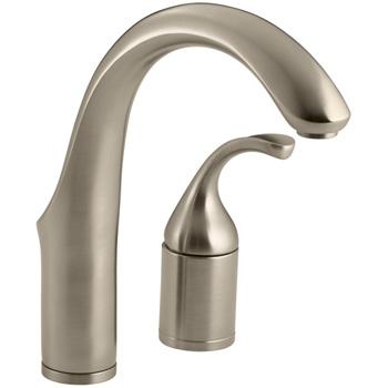 Kohler K-10443-BV Forte Entertainment Kitchen Sink Faucet w/o Sidespray - Brushed Bronze