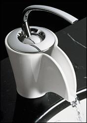 Kohler K-11010-0 Vas Ceramic Faucet - White