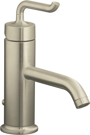 Kohler K-14402-4-BN Purist Single Control Lavatory Faucet - Vibrant Brushed Nickel