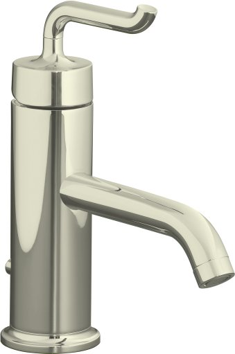 Kohler K-14402-4-SN Purist Single Control Lavatory Faucet - Vibrant Polished Nickel