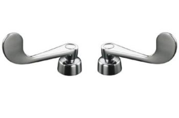 Kohler K-16010-5-CP Triton Lever Handles - Polished Chrome
