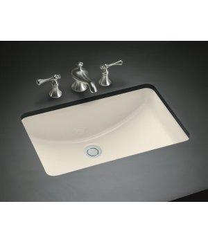 Kohler Lavatory Sink : 2214-47 Kohler Ladena Undermount Lavatory Sink - Almond ...