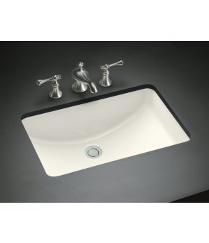 Bathroom Faucets Kohler on 96 Kohler Ladena Undermount Lavatory Sink   Biscuit   Faucet Depot
