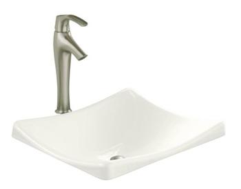 Kohler K-2833-0 DemiLav Wading Pool Lavatory Sink - White