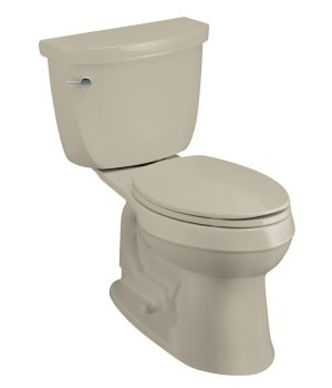 K-3496-G9 Kohler Cimarron Comfort Height Elongated Toilet - Sandbar