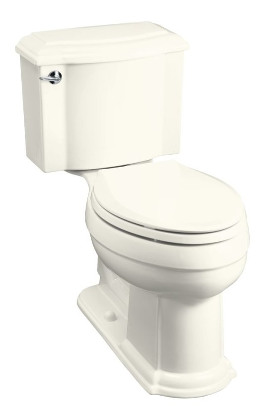 Kohler K-3503-96 Devonshire Comfort Height Two Piece Elongated ...