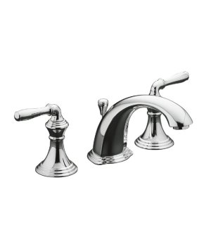 Kohler K-394-4-CP Devonshire Two Handle Lavatory Widespread Faucet - Chrome