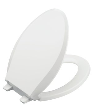 Kohler K-4636-0 Cachet Quiet-Close Quick-Release Toilet Seat - White
