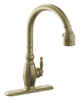 K-690-BV Kohler Vinnata Pull-Down Kitchen Faucet - Brushed Bronze