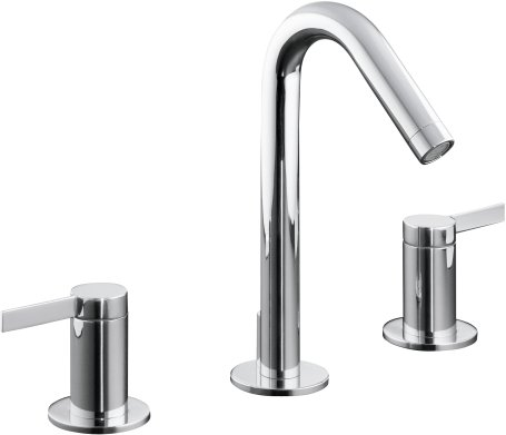 Kohler K-942-4-CP Kohler Stillness Widespread Lavatory Faucet - Polished Chrome