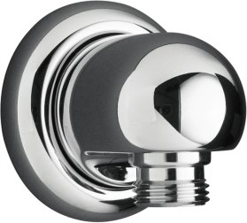 K-9513-BN Kohler MasterShower Wall Supply Elbow - Brushed Nickel (Pictured in Chrome)