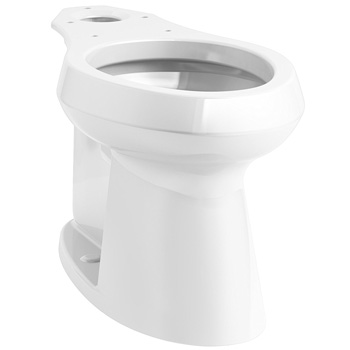 Kohler K-80020-0 Highline Concealed Trapway Comfort Height Elongated Bowl - White