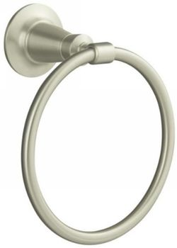 Kohler K11057BN Archer Towel Ring Vibrant Brushed Nickel