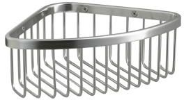 Kohler K-1896-2BZ Medium Shower Basket - Oil Rubbed Bronze (Pictured in Polished Stainless)