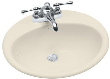 Kohler K-2905-4-47 Farmington Self-Rimming Lavatory With 4