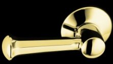Kohler K-484-PB Memoirs Trip Lever Assembly - Polished Brass