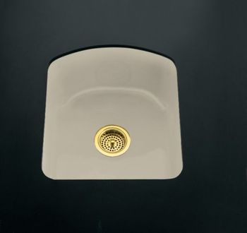 Kohler K-5848-2U-FD Napa Undercounter Entertainment Sink - Cane Sugar (Pictured in Sandbar)