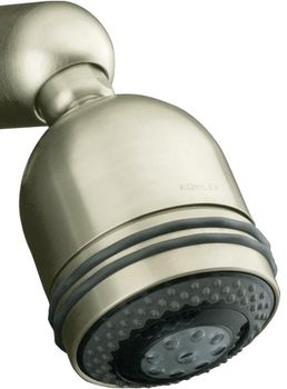 Kohler K-8507-BN MasterShower Relaxing 3-Way Showerhead - Brushed Nickel