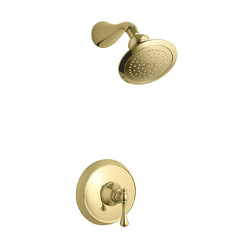 Kohler K-T16116-4A-PB Revival One Handle Shower Only Faucet Trim Kit - Polished Brass