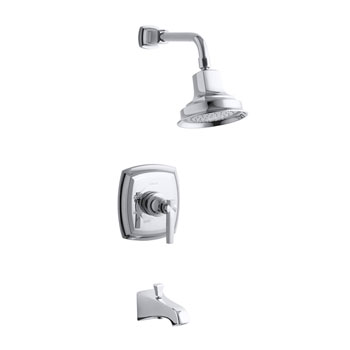 Kohler K-T16225-4-CP Margaux One Handle Bath and Shower Faucet Trim Kit - Polished Chrome