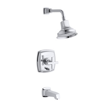 Kohler K-T16233-3-CP Margaux One Handle Tub & Shower Faucet Trim - Polished Chrome