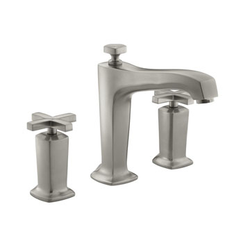 Kohler K-T16236-3-BN Margaux Two Handle Roman Tub Faucet Trim - Brushed Nickel