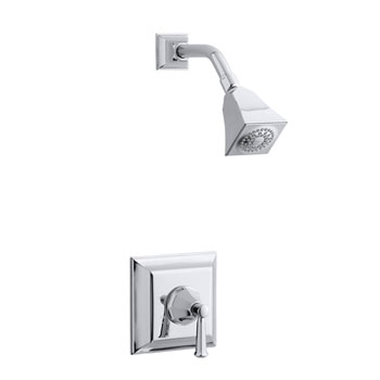 Kohler K-T462-4V-2BZ Memoirs Single Handle Shower Only Faucet Trim - Oil Rubbed Bronze (Pictured in Chrome)