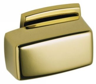 Kohler K-9430-PB Rialto Traditional Simple Rectangular Trip Lever - Polished Brass