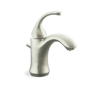 Kohler K-10215-4-BN Fort� Single-Control Lavatory Faucet - Brushed Nickel