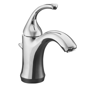 Kohler K-10215-4-CP Fort� Single-Control Lavatory Faucet - Polished Chrome