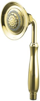 Kohler K-10286-PB Forte Multifunction Handshower - Vibrant Polished Brass