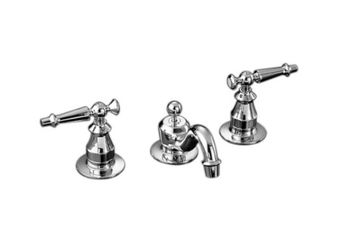Kohler K-108-4-CP Antique Widespread Lavatory Faucet - Chrome
