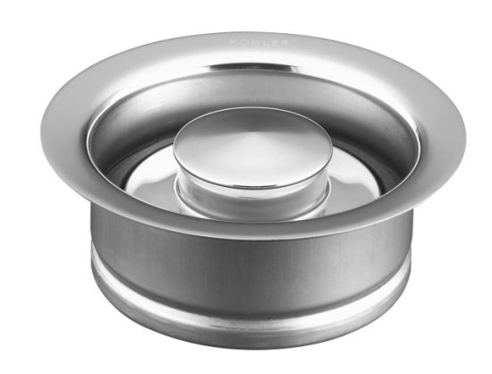 Kohler K-11352-CP Garbage Disposal Flange - Polished Chrome